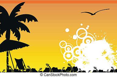 tropicais, wallpaper4, praia, havaiano