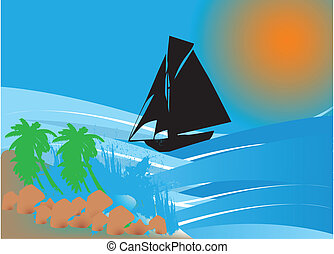 Tropical background
