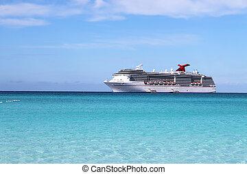 tropical, barco