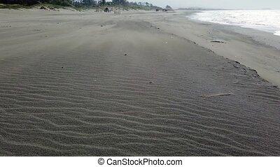 Tropical beach and blue sea. Saud beach, Pagudpud.