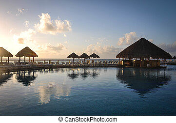 Tropical Beach Bar and Pool