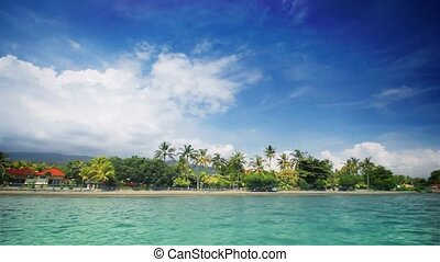 Tropical beach (front)