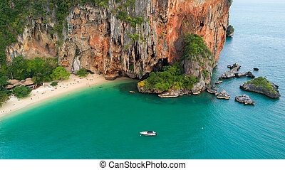 Tropical beach in Thailand