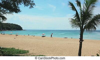 Tropical beach Karon