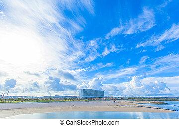 Tropical beach of Okinawa