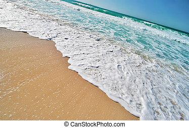 Tropical Beach on Tropical Island