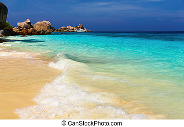 Tropical beach, Similan Islands, Andaman Sea, Thailand