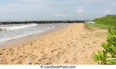 Tropical beach, Sri Lanka.