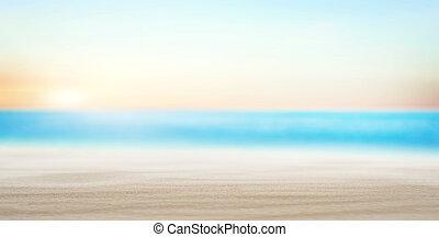Tropical beach summer background
