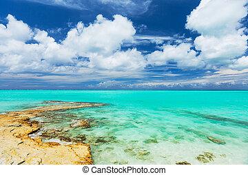 Tropical Beach - Tropical White Sand Beach and Sea In the ...