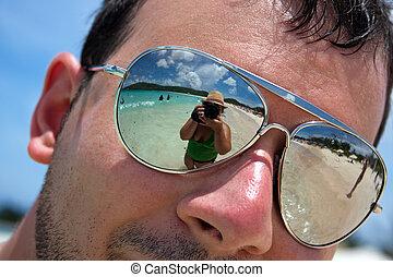 Tropical Beach Vacation