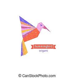 Tropical bird icon