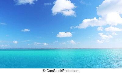 tropical blue ocean, aqua lagoon - tropical blue ocean....