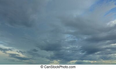 Tropical Climate Cloudscape Time Lapse HD - Cloudscape time...