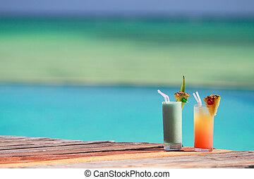 Tropical cocktails