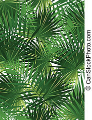 tropical, col, palma