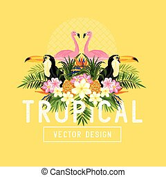 Tropical Design Elements