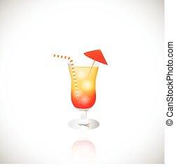 Tropical Drink Illustration