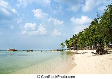 tropical exotic beach near phuket thailand