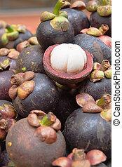 Tropical Fruit, Mangosteen