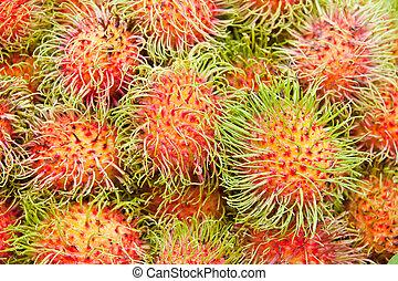 Tropical Fruit,Rambutan  - Tropical Fruit,Rambutan