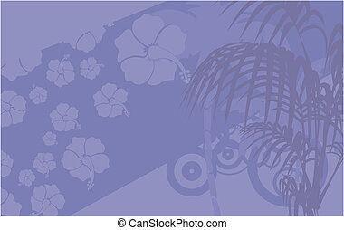 tropical hawaii background10 - tropical hawaii background in...