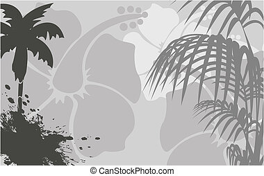 tropical hawaii background6 - tropical hawaii background in...