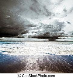 Tropical hurricane