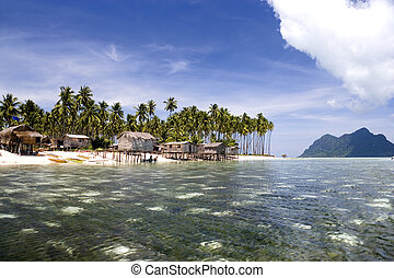 Tropical Island Paradise - Image of remote Malaysian...
