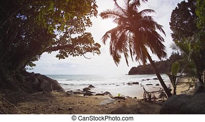 Tropical Island Paradise of Phuket, Thailand, with Sound