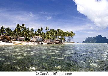 Tropical Island Paradise - Image of remote Malaysian...