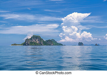 tropical, islands.