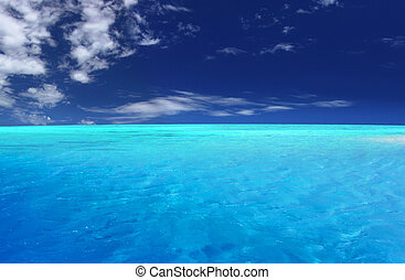 Tropical Lagoon - Beautiful Tropical Beach