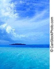tropical, laguna