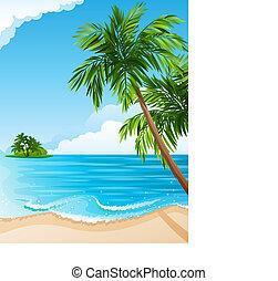 tropical landskap