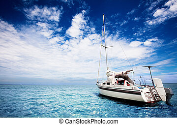 tropical, navegación