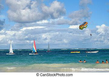 tropical ocean activities