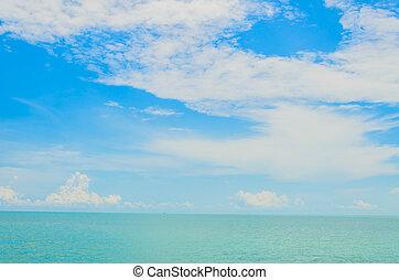 Tropical ocean