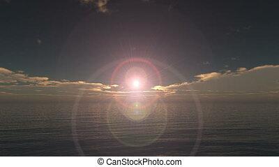 tropical ocean sunrise