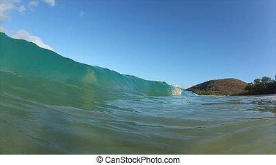 Tropical Ocean Wave