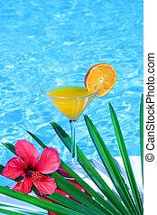 Tropical orange juice