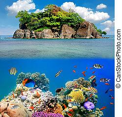Tropical paradise, Siam Bay, Thailand