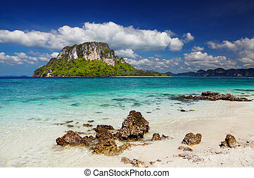 tropical, playa, Tailandia