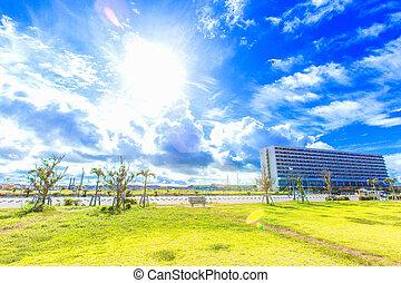 Tropical resort of Okinawa
