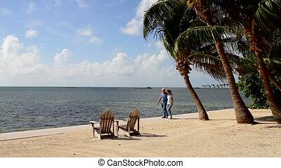 Tropical Retirement Couple