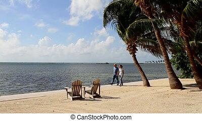 Tropical Retirement Walking