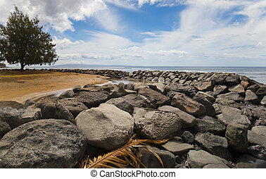 Tropical Rock Jetty