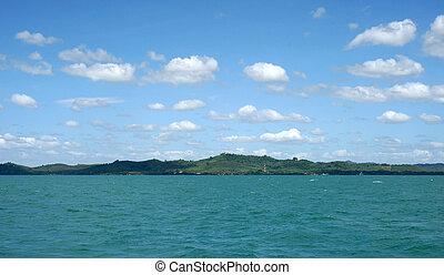 tropical sea beach island