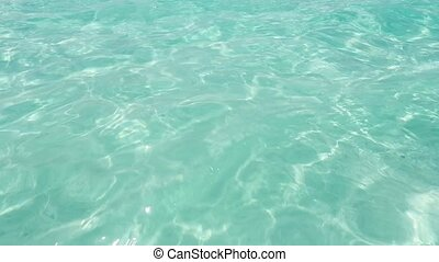 tropical sea beach ripple water