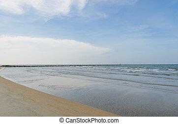 Tropical sea beach, Thailand